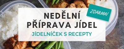 Nedělní příprava jídel (ZDARMA)
